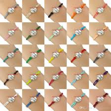 wrap bracelet with charms images Baseball charm wrap bracelets softball pendants bracelets sport jpg