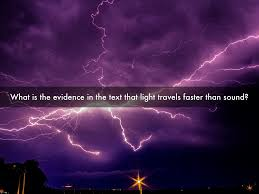 What Travels Faster Light Or Sound Flash Crash Rumble And Roll By Erin Sorenson