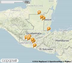 map of guatemala cities 10 top tourist attractions in guatemala with photos map touropia
