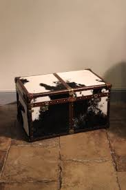 bespoke cowhide trunk coffee table leather trunks u0026 luggage