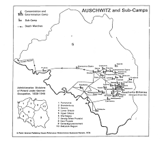 Map Of Concentration Camps Homepage
