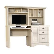 sauder orchard computer desk with hutch carolina oak shop desks at lowes
