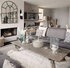 Modern Rustic Living Room Ideas Jesper Ray Bolig Magasinet White And Wood Rustic Modern Living