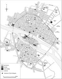 Map Of St Martin Map Of Paris In The Beginning Of The 15th Century 1300 U2013 1325