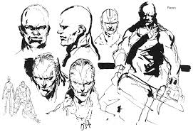 sketches for metal gear solid sketches www sketchesxo com