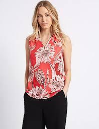 shell blouse shell tops womens chiffon lace shell top blouses m s