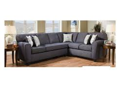 furniture gray denim sectional with wooden flooring plus glass