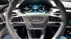 check out audi u0027s incredible oled packed e tron quattro cockpit