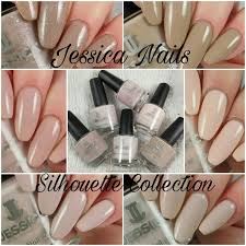 b nailed to perfection jessica nails silhouette collection