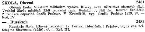czech and slovak newspaper and periodical sources