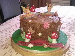 fairy woodland chocolate cake cakecentral com
