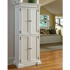 Lakeside Tall Storage Cabinet White Wooden Storage Cabinet With Drawers And Door