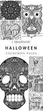 Halloween Coloring Pages Adults The 25 Best Halloween Coloring Pages Ideas On Pinterest