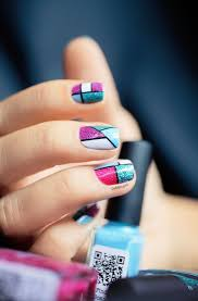 37 best geometric nails images on pinterest make up enamels and