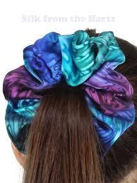 hair scrunchy large silk satin hair scrunchies bff gift for women