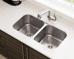 Undermount Stainless Steel Kitchen Sink   3218a double bowl stainless steel kitchen sink