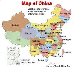 china on a map china map china city map china atlas