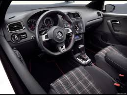 white volkswagen gti interior 2011 volkswagen polo gti interior wallpaper 15