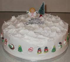 Cheap Christmas Cake Decorations Uk by Ice A Christmas Cake The Traditional Method Fully Illustrated