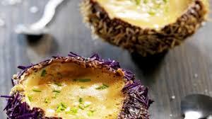 comment cuisiner des oursins recette crème d oursin dans sa coque cuisiner de l oursin rapidement
