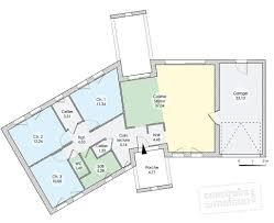plan de maison en v plain pied 4 chambres ordinaire plan de maison en v plain pied 4 chambres 7 une grande
