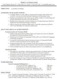general resume examples career center general resume sample