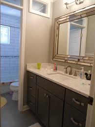Dark Gray Bathroom Vanity Marvelous Uttermost Mirrors Mode Other Metro Transitional Bathroom