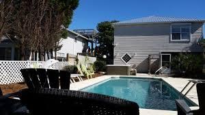 Deep Backyard Pool by Gulf View Home Large Deep Pool Tub Vrbo