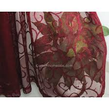 Sheer Maroon Curtains Burgundy Lace Curtains 28 Images Burgundy Lace Curtains House