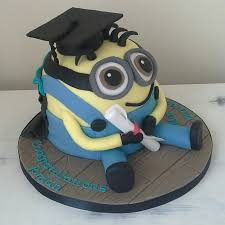 edible graduation caps minion graduation cake minion wearing a graduation cap 100