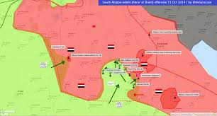 Syria Battle Map by Agathocle De Syracuse Syria South Aleppo Rebels Offensive 11
