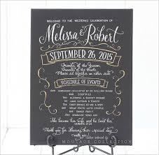 chalkboard wedding program template program schedule template 7 free sle exle format