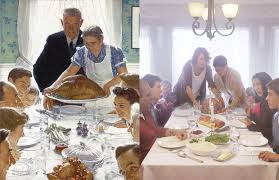 how norman rockwell might depicted lgbt families