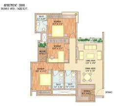floor plans wish town klassic jaypee greens noida residential