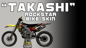 motocross helmet skins mx vs atv reflex rockstar suzuki bike skin youtube