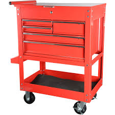 Tool Cabinet With Wheels Jegs Performance Products 81411 5 Drawer Tool Box Cart Jegs