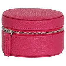 Travel Jewelry Case images Mele co joy women 39 s travel jewelry case in faux leather magenta