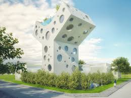 Home Design Concept Lyon 9 by Mvrdv Home