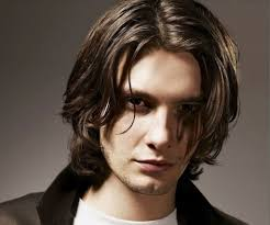 center part mens hairstly mens fashion long hair center part medium hairstyles for men with