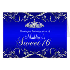 sweet 16 thank you cards invitations greeting photo cards