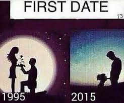Blowjob Meme - first date in the glorious 90 s vs first date now lewronggeneration