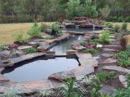 Garden Waterfall Ideas Backyard Diy Concrete Pond Waterfall Pond Ideas Small Waterfall