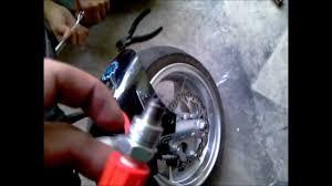 x18 pocket bike stock ignition coil vs hi powered coil youtube