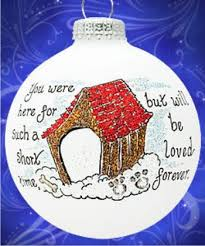 but not forgotten memorial glass ornament gigi s glass