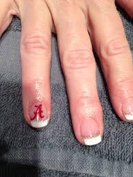 alabama nails loveee nails pinterest alabama nails and alabama