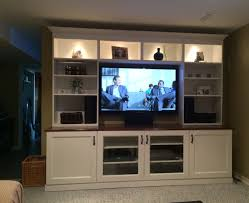Flat Screen Tv Wall Cabinet by Built In Media Cabinet Ikea Best Home Furniture Decoration