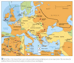 post ww1 map lesson plans for war i as the pivotal point in history