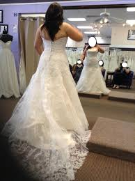 chagne wedding dresses help should i change the back of my wedding dress yo a corset