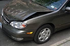 free photo crashed car damage dent hood free image on