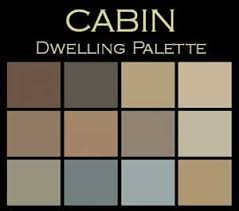 harmony in color a paint palette for cabins cabin create and